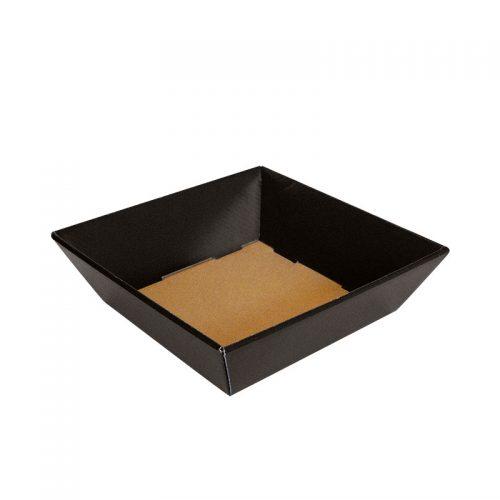 Mellem gavekurv / gavebakke i sort