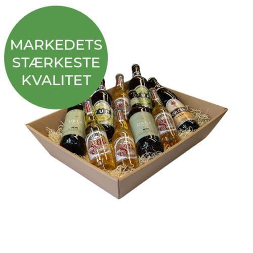 Stor gavekurv / gavebakke i natur - Markedets stærkeste kvalitet